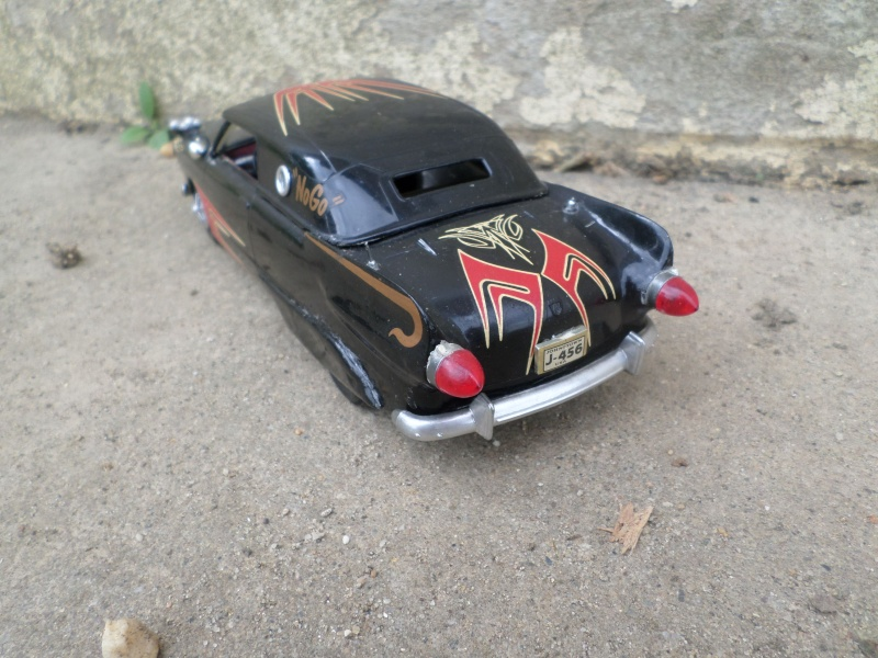 1950 Ford Convertible - customizing kit - trophie series - amt Sam_2511