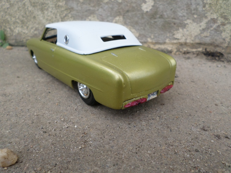 1950 Ford Convertible - customizing kit - trophie series - amt Sam_2514