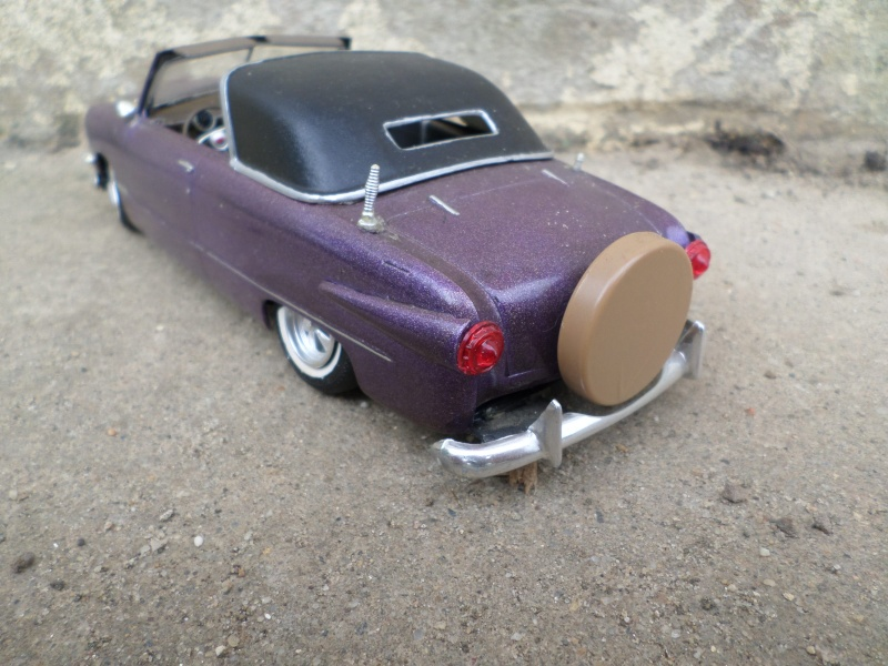 1950 Ford Convertible - customizing kit - trophie series - amt Sam_2517