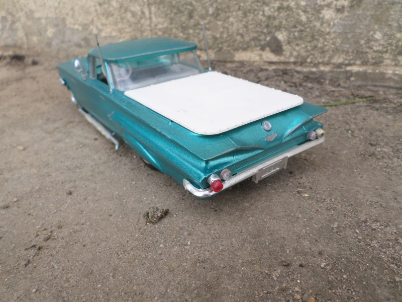 1960 Chevrolet El Camino - customizing kit - trophie series - Amt /Smp Sam_2622