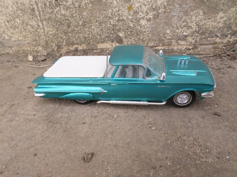 1960 Chevrolet El Camino - customizing kit - trophie series - Amt /Smp Sam_2623