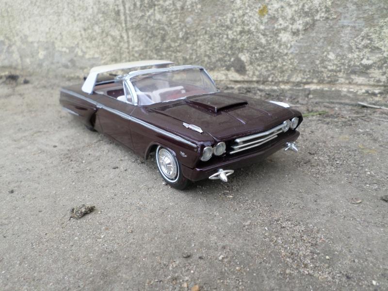 1962 Chevrolet convertible - Customizing kit - Amt Sam_2630