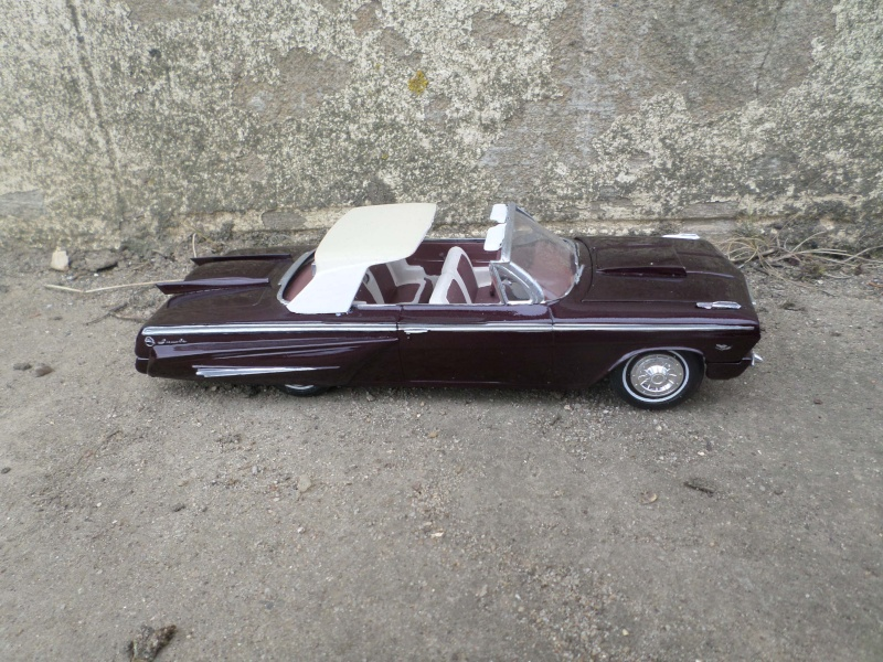 1962 Chevrolet convertible - Customizing kit - Amt Sam_2632