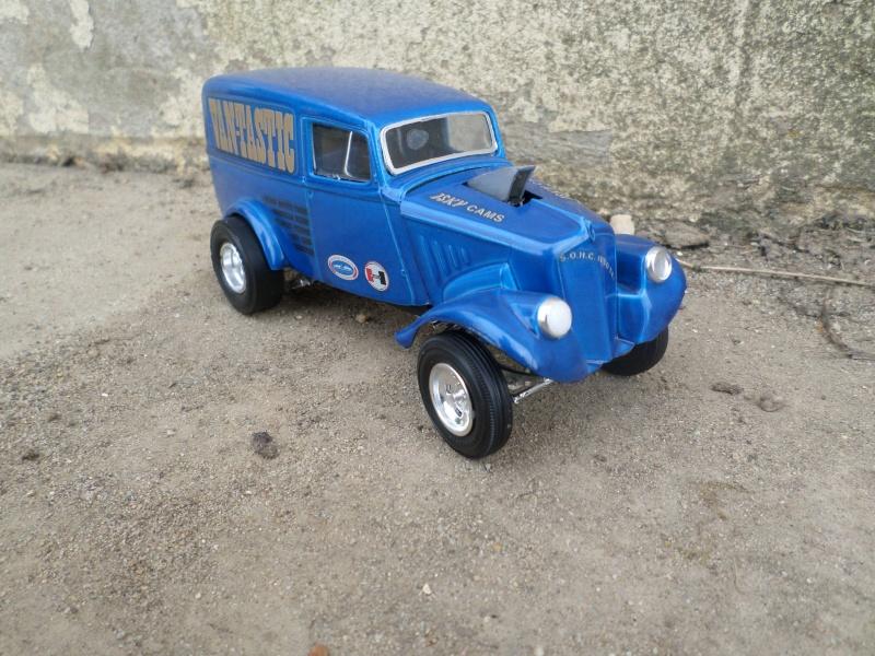 1933 Willys panel truck - gasser - amt - 1/25 scale Sam_2667