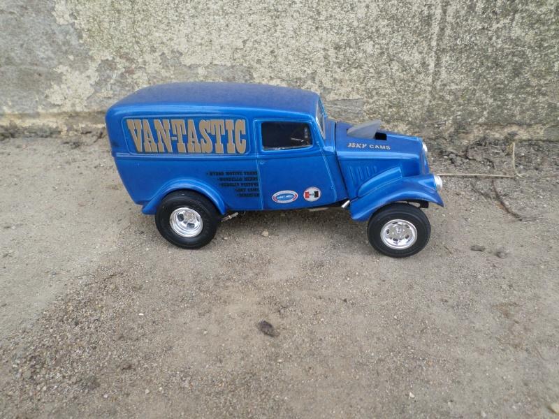 1933 Willys panel truck - gasser - amt - 1/25 scale Sam_2669