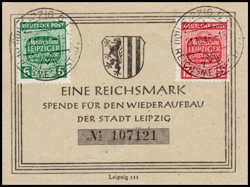 Westsachsen (OPD Leipzig) -Sowjetische Besatzungszone- 124-2510
