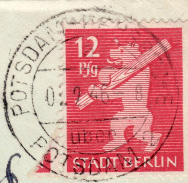 1945 - Deutschland  -  Landpoststempel (Poststellenstempel) 5aa10