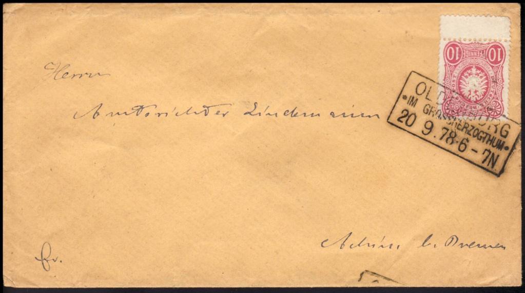 1875 bis 1899 -Pfennige/Pfennig/Krone und Adler Dr33a10