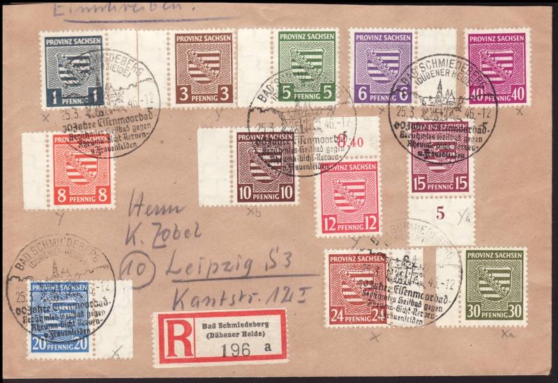 1945 - Ortswerbestempel - Deutschland nach 1945 (Handstempel) Owr12a10