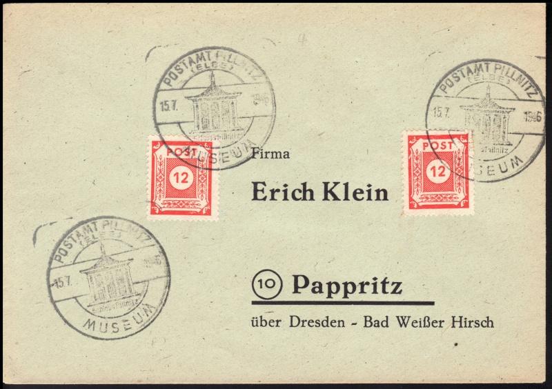 1945 - Ortswerbestempel - Deutschland nach 1945 (Handstempel) Ows11a10