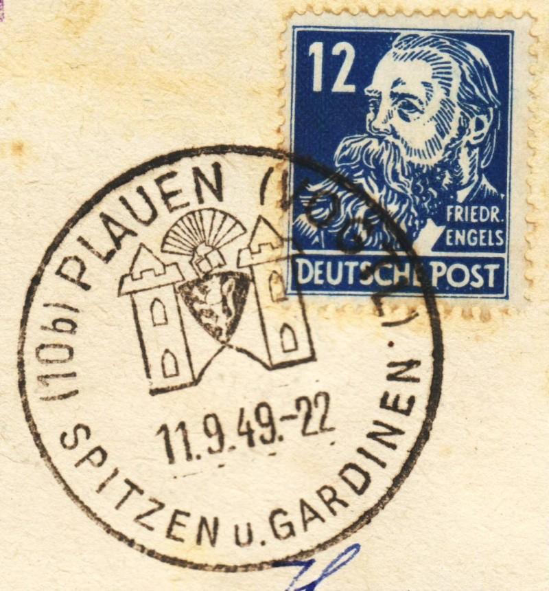1945 - Ortswerbestempel - Deutschland nach 1945 (Handstempel) Ows1210