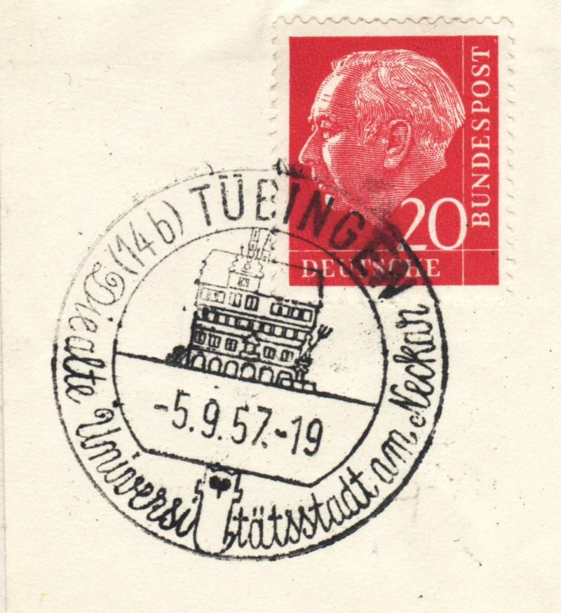 1945 - Ortswerbestempel - Deutschland nach 1945 (Handstempel) Ows13010