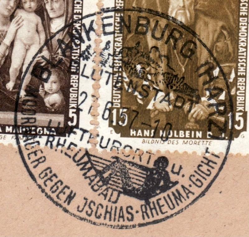1945 - Ortswerbestempel - Deutschland nach 1945 (Handstempel) Ows1310