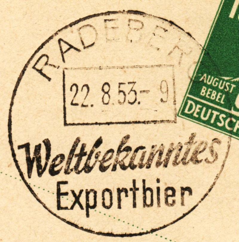 1945 - Ortswerbestempel - Deutschland nach 1945 (Handstempel) Ows310