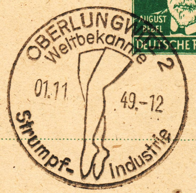 1945 - Ortswerbestempel - Deutschland nach 1945 (Handstempel) Ows410