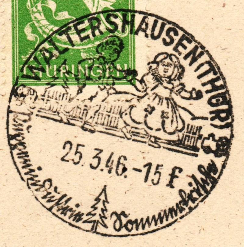 1945 - Ortswerbestempel - Deutschland nach 1945 (Handstempel) Ows510