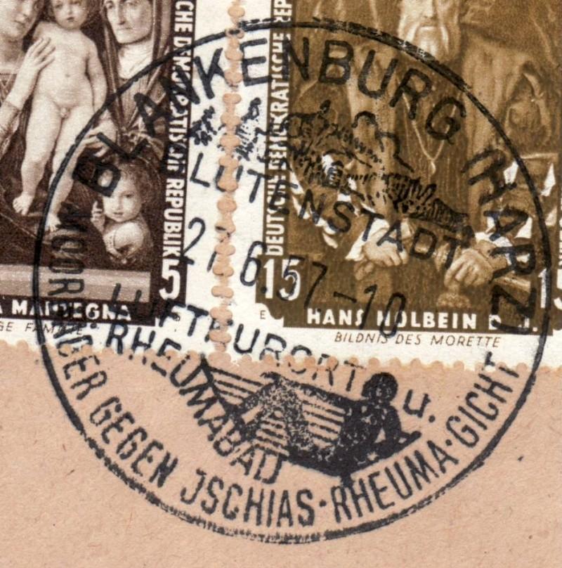 1945 - Ortswerbestempel - Deutschland nach 1945 (Handstempel) Ows610