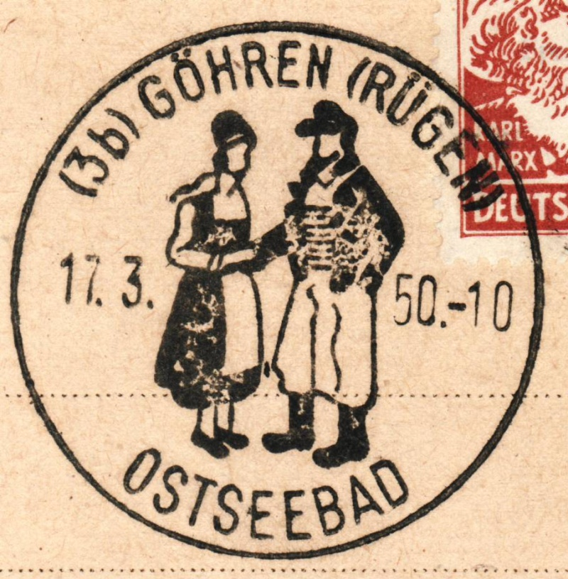 1945 - Ortswerbestempel - Deutschland nach 1945 (Handstempel) Ows710