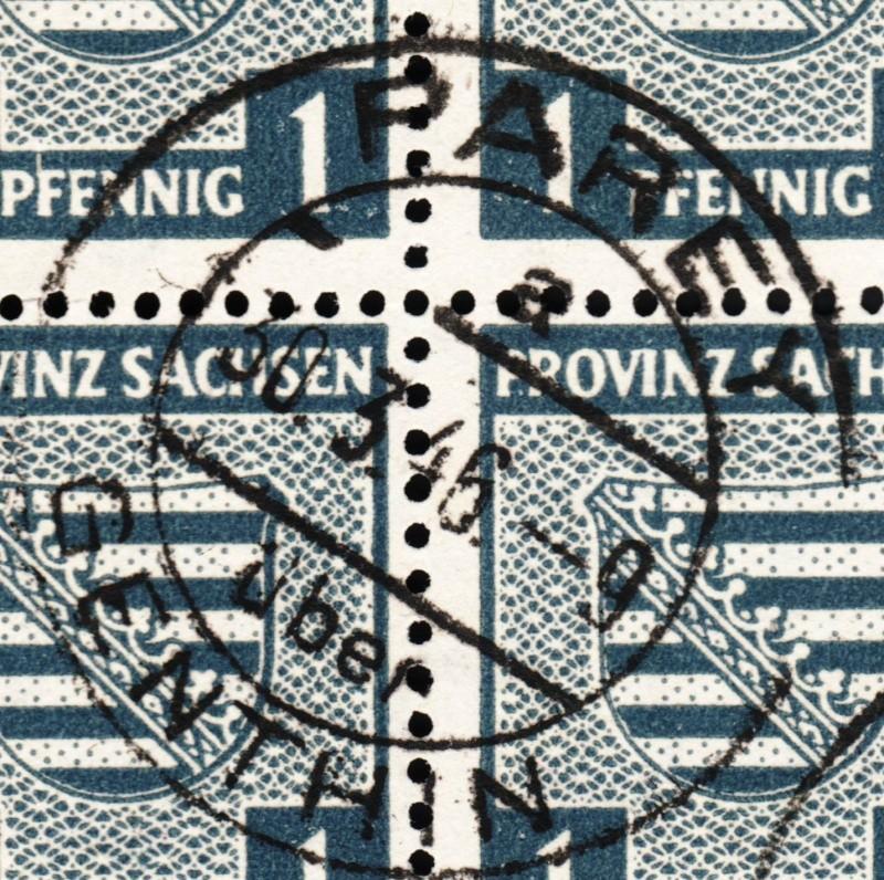 1945 - Deutschland  -  Landpoststempel (Poststellenstempel) Psr20010