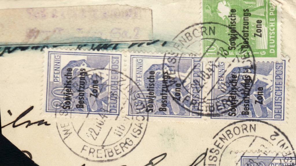 1945 - Deutschland  -  Landpoststempel (Poststellenstempel) Psr20011