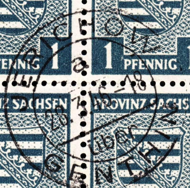 1945 - Deutschland  -  Landpoststempel (Poststellenstempel) Psr20013