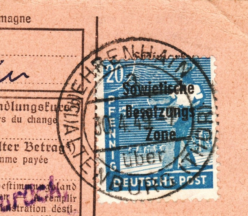 nach - Deutschland  -  Landpoststempel (Poststellenstempel) - Seite 2 Psr20014