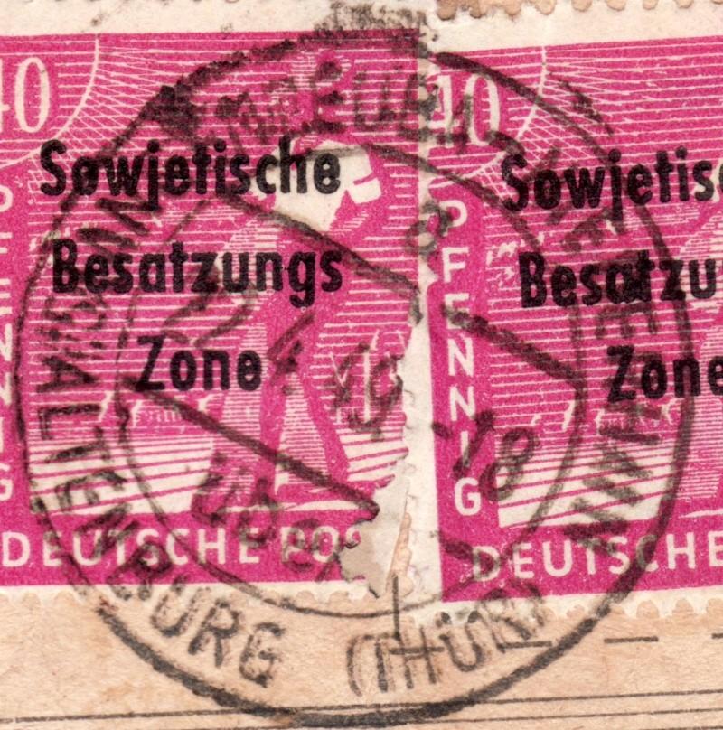 1945 - Deutschland  -  Landpoststempel (Poststellenstempel) - Seite 2 Psr20015