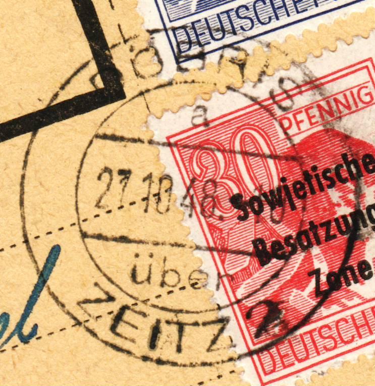 nach - Deutschland  -  Landpoststempel (Poststellenstempel) - Seite 2 Psr20017