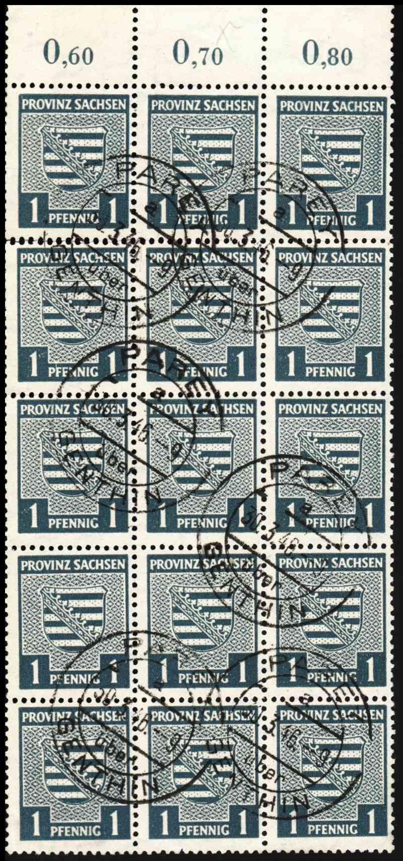 1945 - Deutschland  -  Landpoststempel (Poststellenstempel) Psr210