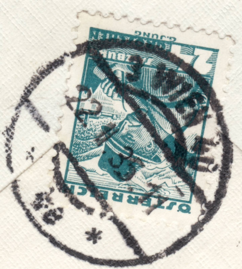 Die Poststempel von Wien Wien110