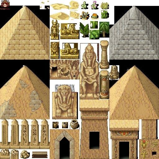 Tilesest type Egypte, Desert, Oriental Egypt_10