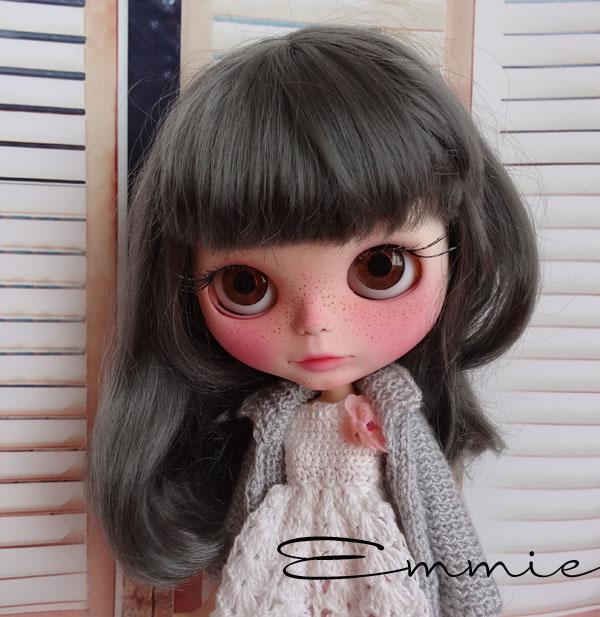 Silver, Blythe custom par Zuzana;  Manuela et Perle 152