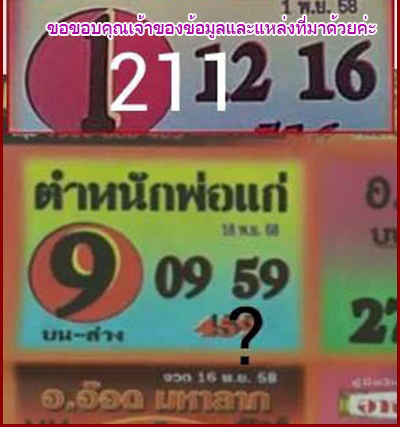 16.11.2558 TIPS 12112011