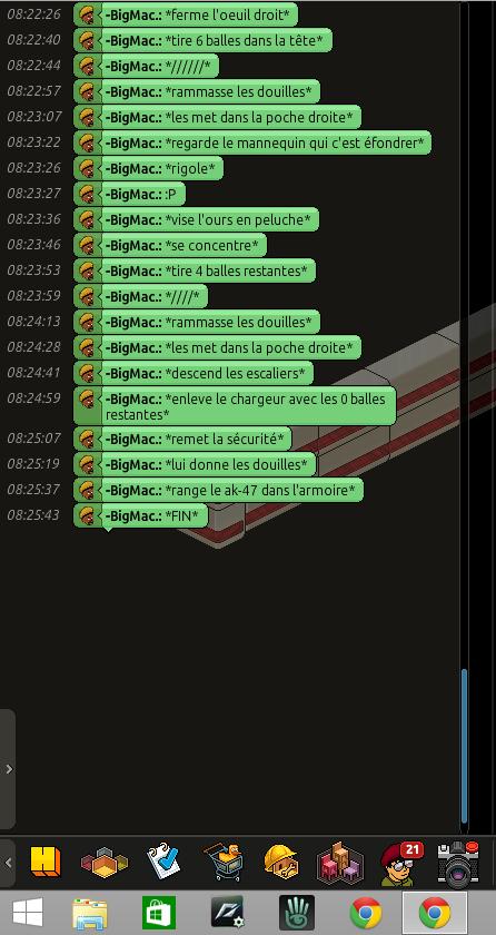 Rapports de formation de Jul937 [CM] Rp18