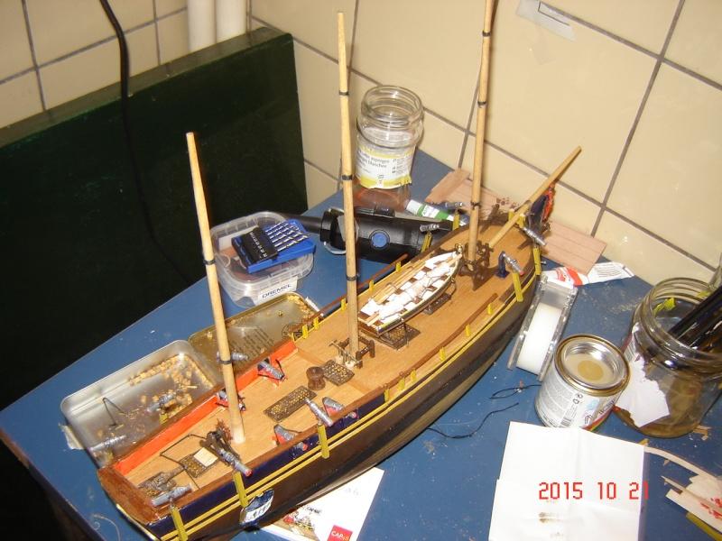 """Présentation du kit Bounty de Marine Models Company inc au 5/32""""  Dsc09413"""