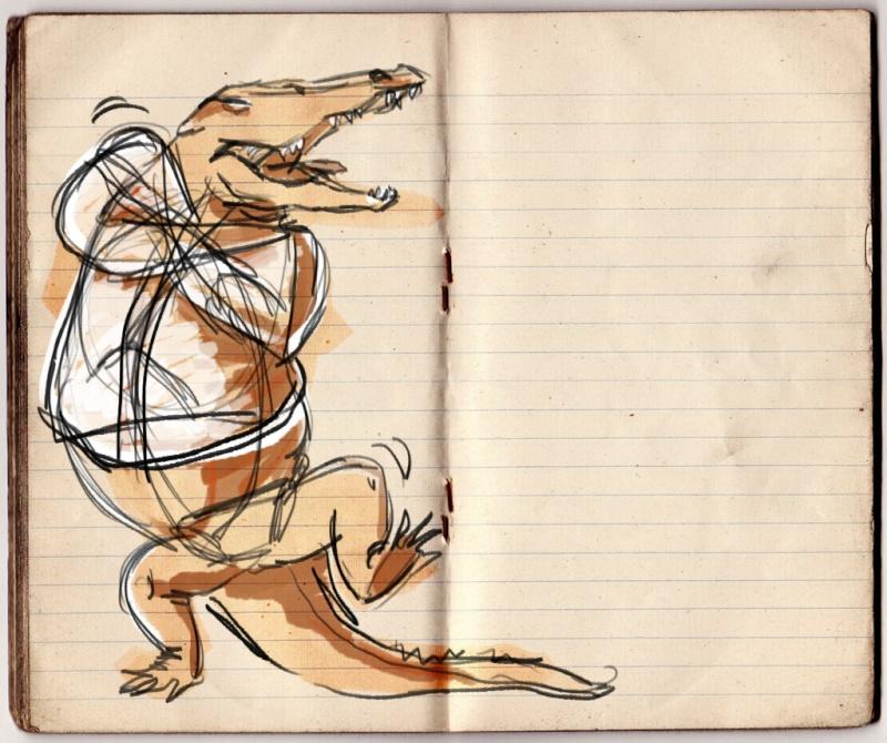 Croquis de Maggy Sketch11