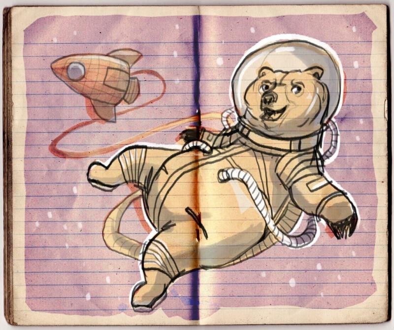 Croquis de Maggy Sketch13