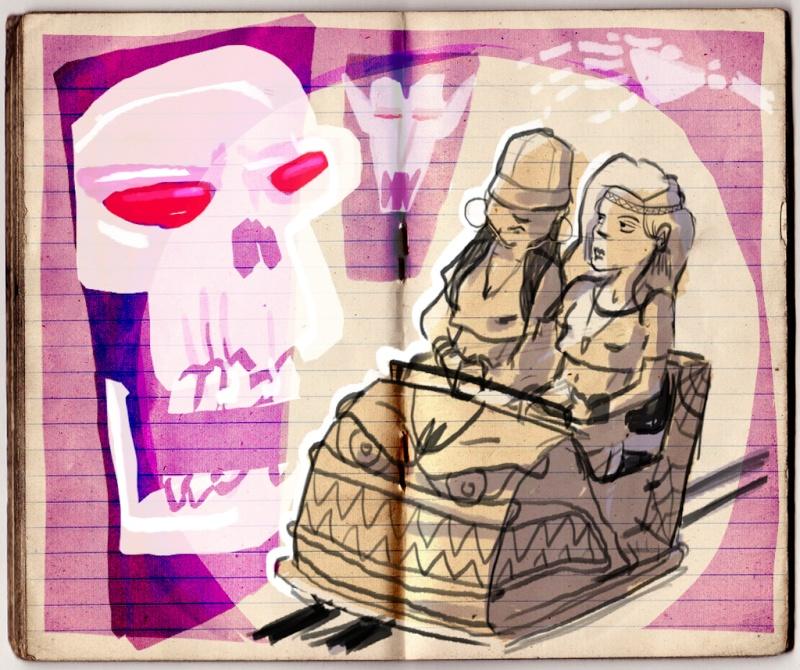 Croquis de Maggy Sketch14