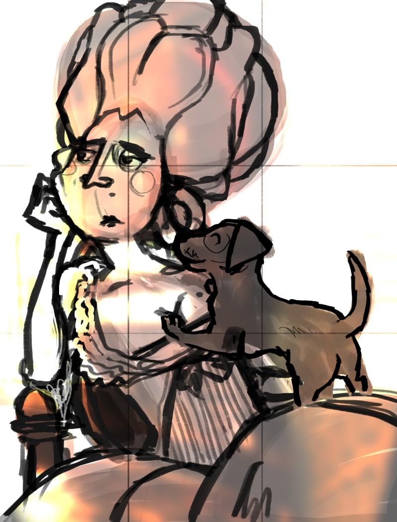 Croquis de Maggy Sketch15