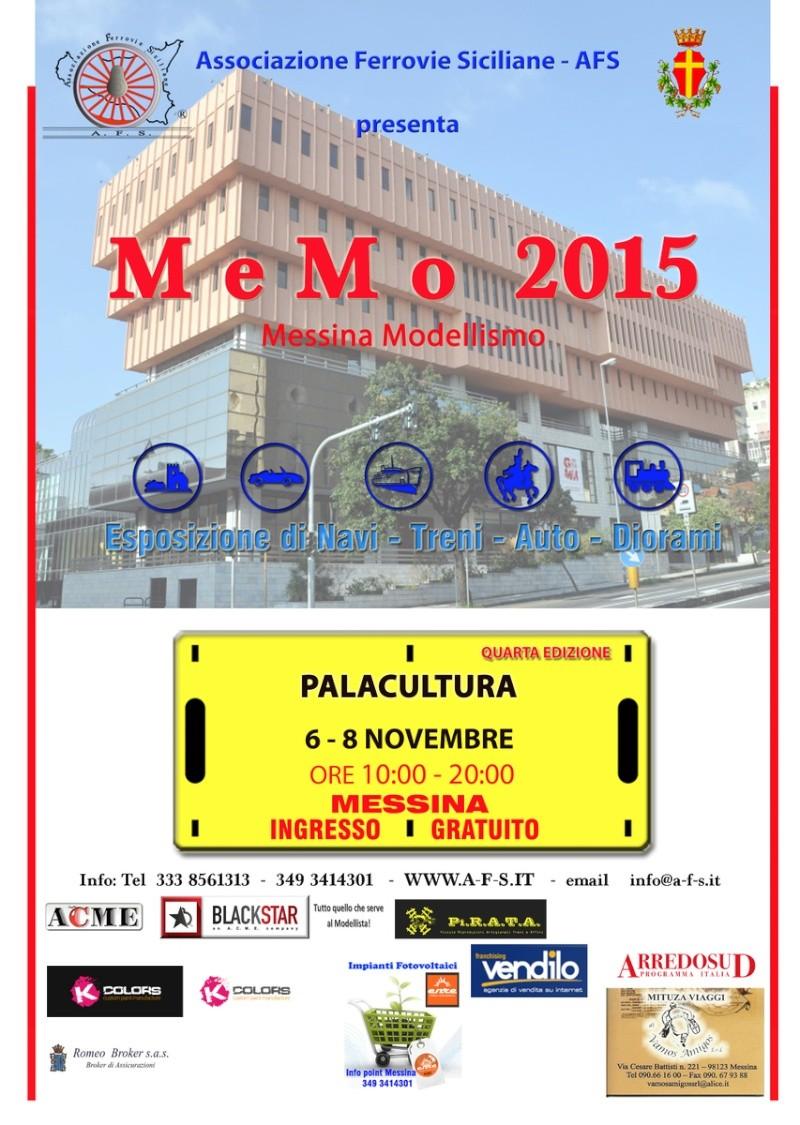 MeMo 2015 (6 - 8 novembre 2015) al Palacultura di Messina Locand10