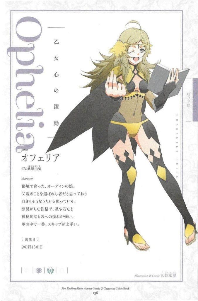 Artwork 4Koma des personnages Opheli10