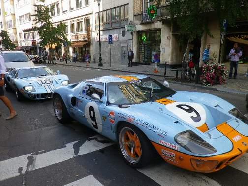 La FORD GT 40  Brux2011