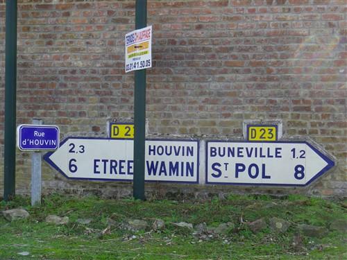 Panneaux MICHELIN, TCF, ACF ou autres Croix035