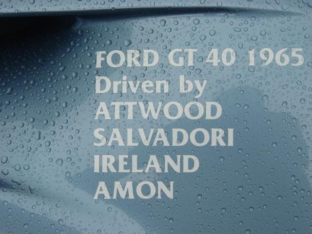 La FORD GT 40  Dsc03020
