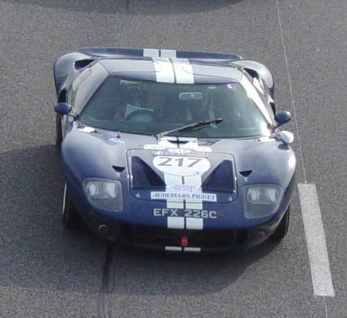 La FORD GT 40  Tour1111