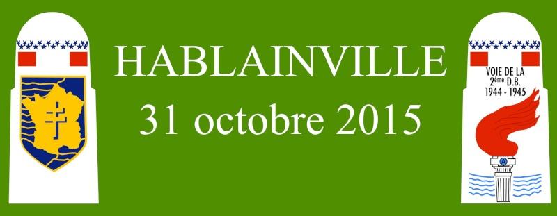Borne du serment de Koufra: HABLAINVILLE (54) Bandea15