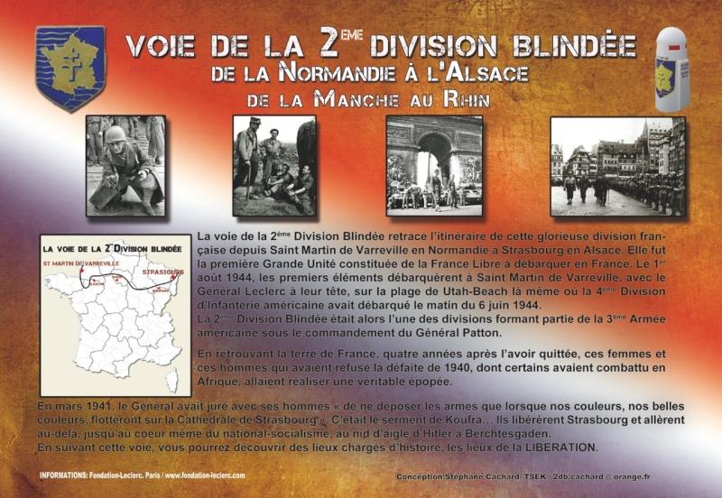 VOIE DE LA 2ème DB & BORNES DU SERMENT DE KOUFRA (INDEX) Pannea14