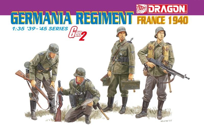 Dragon 1/35 Germania Régiment France 1940 Gen2 German10
