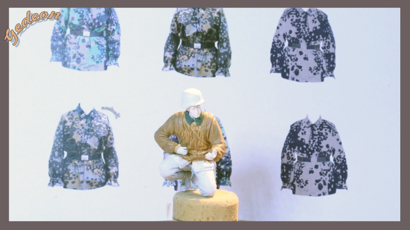 Tutorial peinture camouflage 3 tons soldats Allemands (Waffen SS) Img_1810