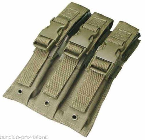 New Condor MA37 Triple MP5/UZI Mag Pouch OD Gre S-l50010